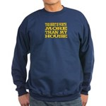 Shirt > House Navy/Gold Sweatshirt