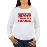 Shirt > House Women's Long Sleeve T-Shirt