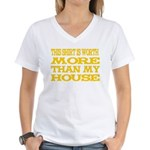 Shirt > House Women's V-Neck T-Shirt
