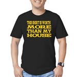 Shirt > House Men's Black/Gold Fitted T