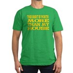 Shirt > House Men's Green/Gold Fitted T