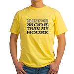 Shirt > House Blue/Yellow T-Shirt