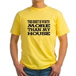 Shirt > House Yellow T-Shirt