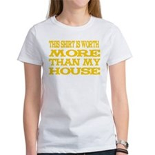 Shirt > House Women's White/Gold T-Shirt