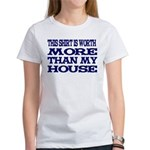 Shirt > House Women's White/Blue T-Shirt