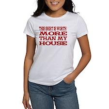 Shirt > House White/Red Tee
