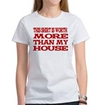Shirt > House White/Red Women's T-Shirt