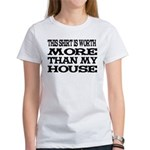 Shirt > House White/Black Women's T-Shirt