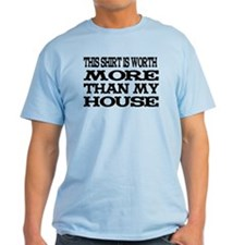 Shirt > House Baby Blue/Black T-Shirt