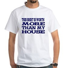 Shirt > House White/Blue T-Shirt