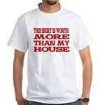 Shirt > House White/Red T-Shirt
