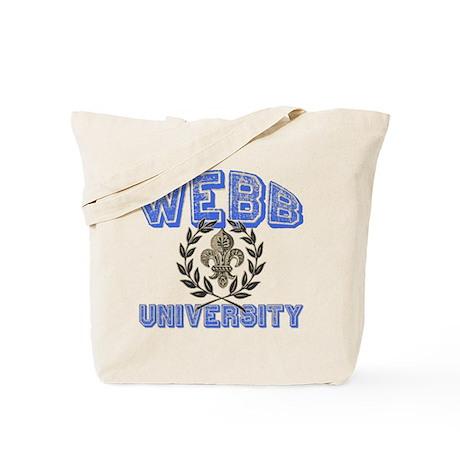 Webb Last Name University Tote Bag