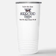You're Not Alone Travel Mug