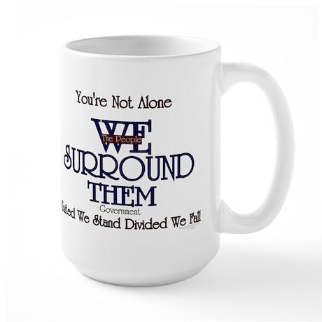 You're Not Alone Large Mug