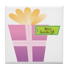 Mimi's Favorite Gift Tile Coaster
