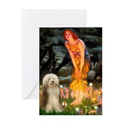 Mideve / Bearded Collie #16 Greeting Card