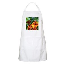 Red FLoral Accents BBQ Apron