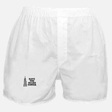 Save The Sears Tower Boxer Shorts