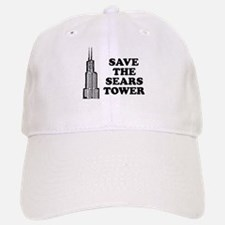 Save The Sears Tower Baseball Baseball Cap
