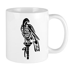 Falcon on Block Mug
