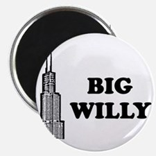 """Big Willy 2.25"""" Magnet (100 pack)"""