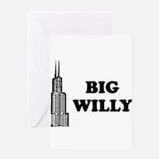 Big Willy Greeting Card