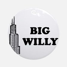 Big Willy Ornament (Round)