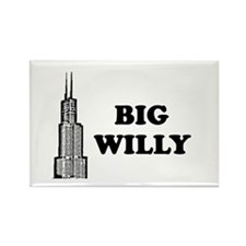 Big Willy Rectangle Magnet