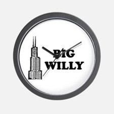 Big Willy Wall Clock
