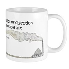 croppedprotestwhite Mugs