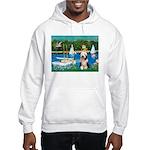 Sailboats / Beardie #1 Hooded Sweatshirt