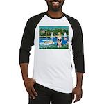 Sailboats / Beardie #1 Baseball Jersey