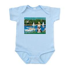 Sailboats / Beardie #1 Infant Bodysuit