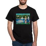 Sailboats / Beardie #1 Dark T-Shirt
