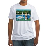 Sailboats / Beardie #1 Fitted T-Shirt