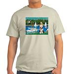 Sailboats / Beardie #1 Light T-Shirt