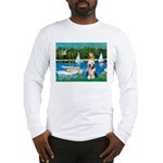 Sailboats / Beardie #1 Long Sleeve T-Shirt