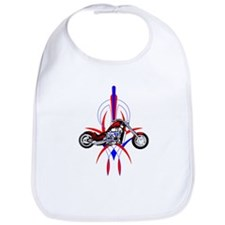Cute Pinstripes Bib