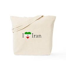 I Love Iran Tote Bag