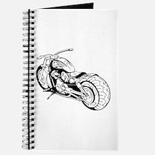 Cute Bike boy Journal