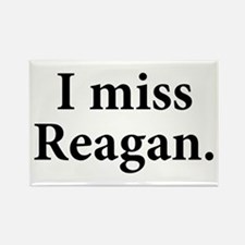 I Miss Reagan Rectangle Magnet