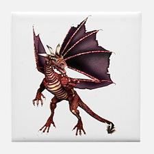 Brown Dragon Tile Coaster
