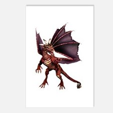 Brown Dragon Postcards (Package of 8)