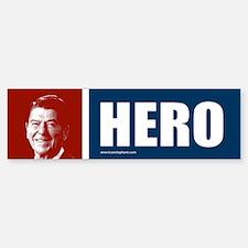 Ronald Reagan Hero Bumper Bumper Bumper Sticker