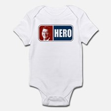 Ronald Reagan Hero Infant Bodysuit