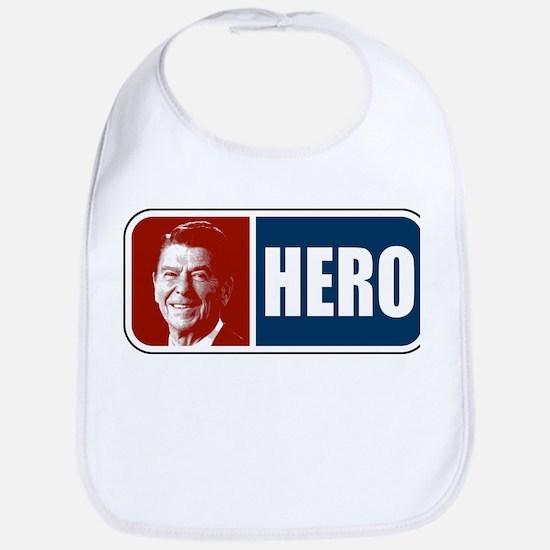 Ronald Reagan Hero Bib