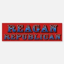 Reagan Republican Bumper Bumper Bumper Sticker