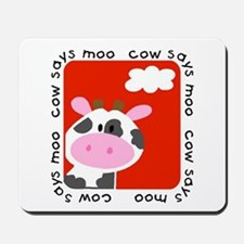 Cow Says Moo Mousepad
