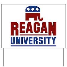 Reagan University Yard Sign
