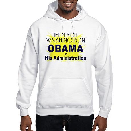 Impeach Washington Hooded Sweatshirt